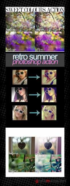 Photoshop Action pack 52