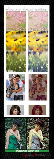 Photoshop Action pack 62