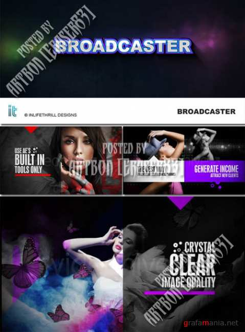 BroadCaster - Project for After Effects (Videohive)