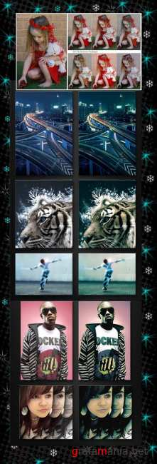 Photoshop Action pack 78
