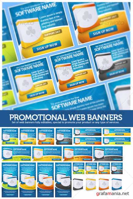 GraphicRiver Promotional Web Banners