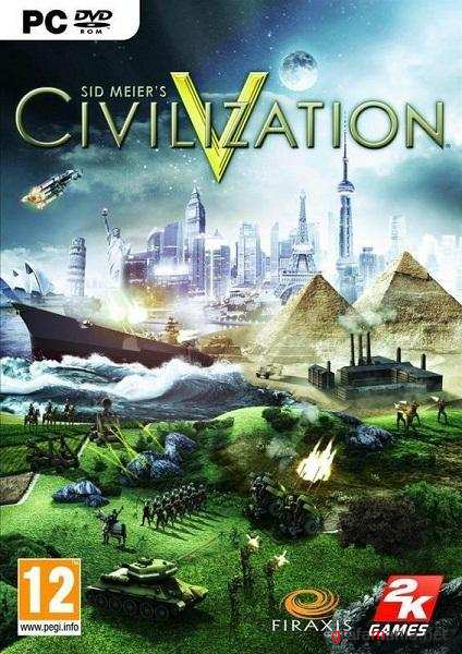 Sid Meier's Civilization V Deluxe Edition v1.0.1.348 + 10 DLC (2010/RUS/RePack by R.G. Packers)
