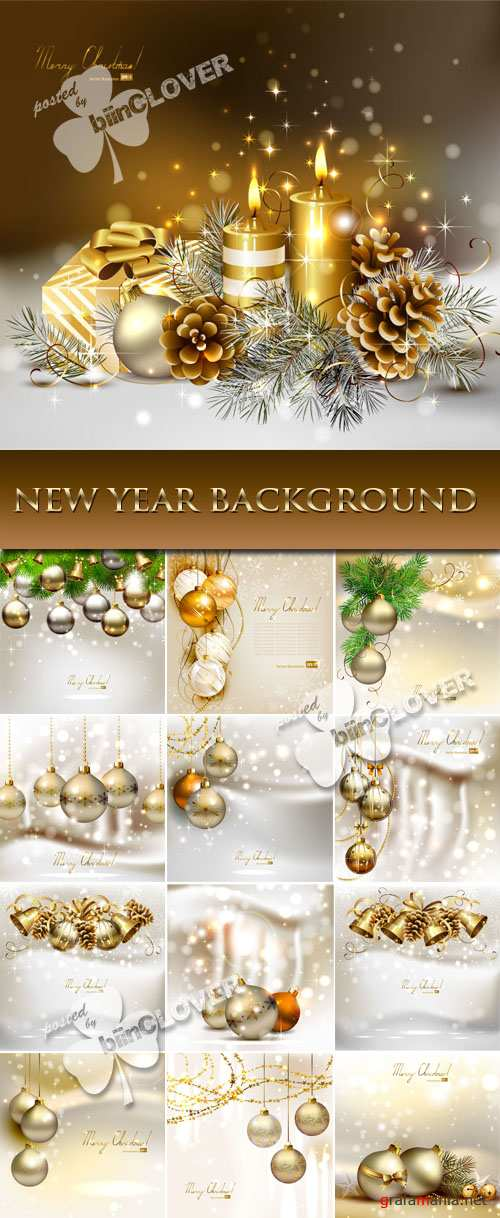 New Year background 0039