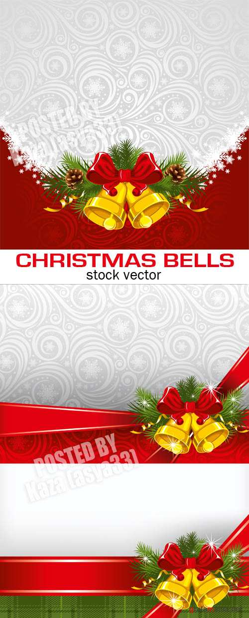 Christmas bell cards