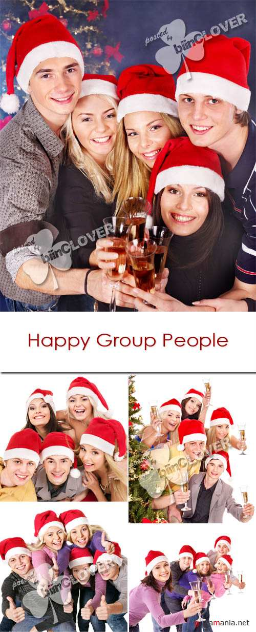 Happy group people 0039