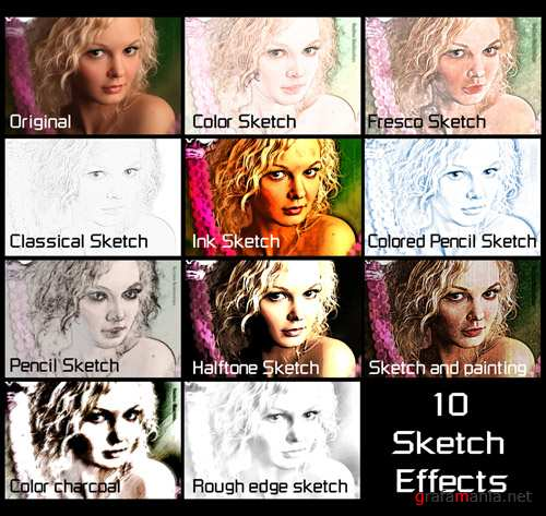 Cool Photoshop Action pack 161