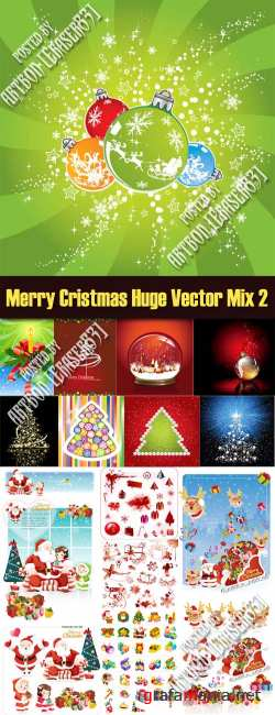 Merry Cristmas Huge Vector Mix 2