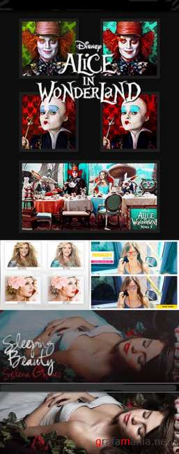 Cool Photoshop Action pack 140