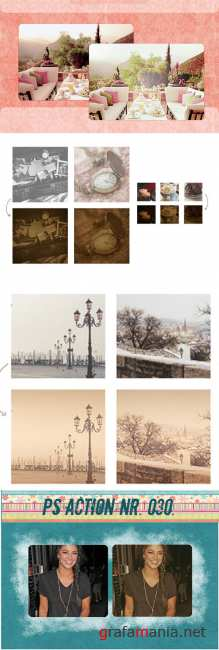 Cool Photoshop Action pack 143