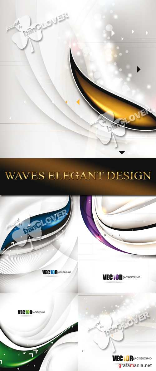 Waves elegant design 0060