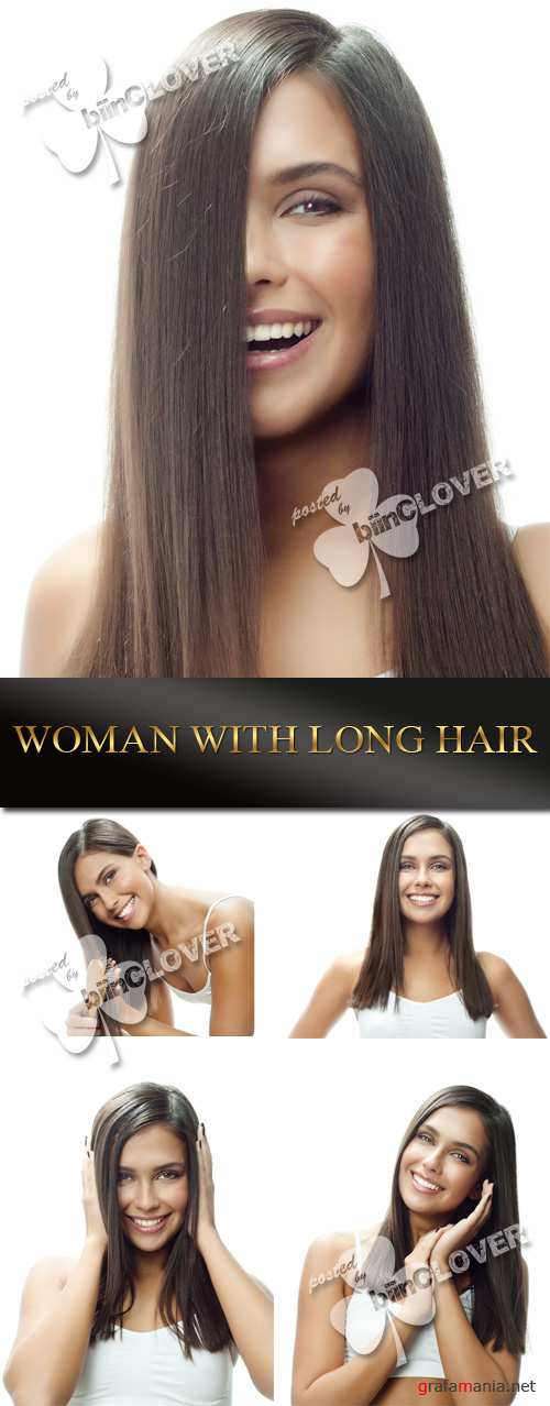 Woman with long hair 0060