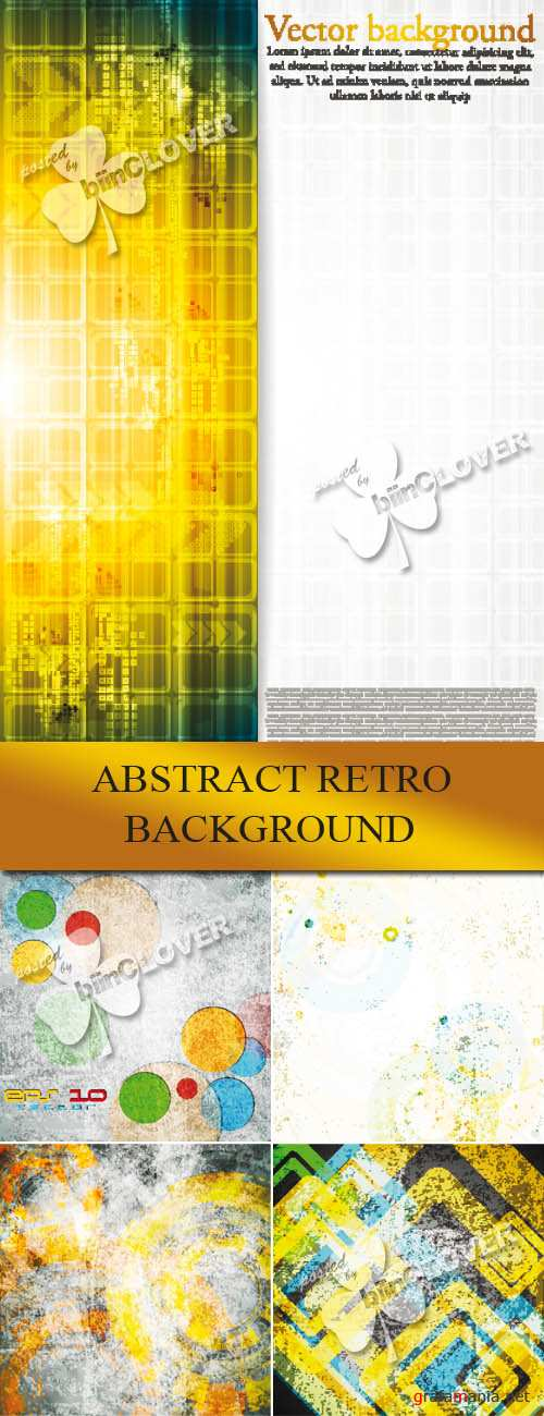 Abstract retro background 0060
