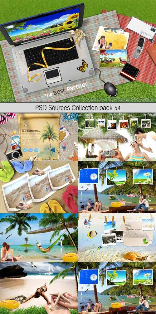 PSD Sources Collection pack 54