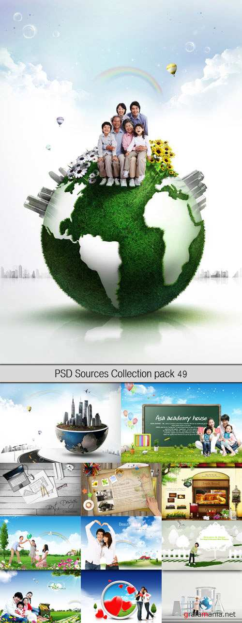 PSD Sources Collection pack 49
