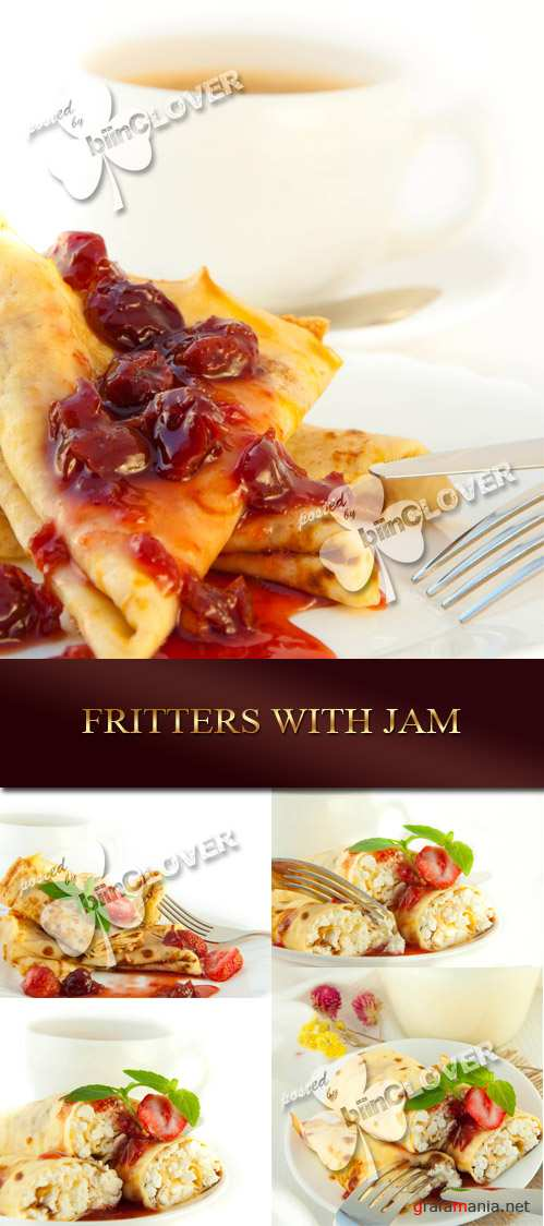 Fritters with jam 0069