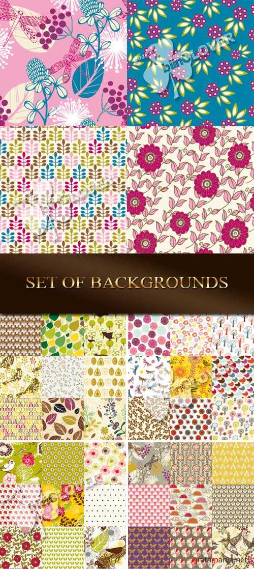 Set of backgrounds 0069