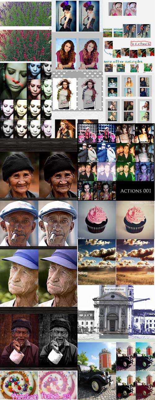 Cool Photoshop Action pack 221