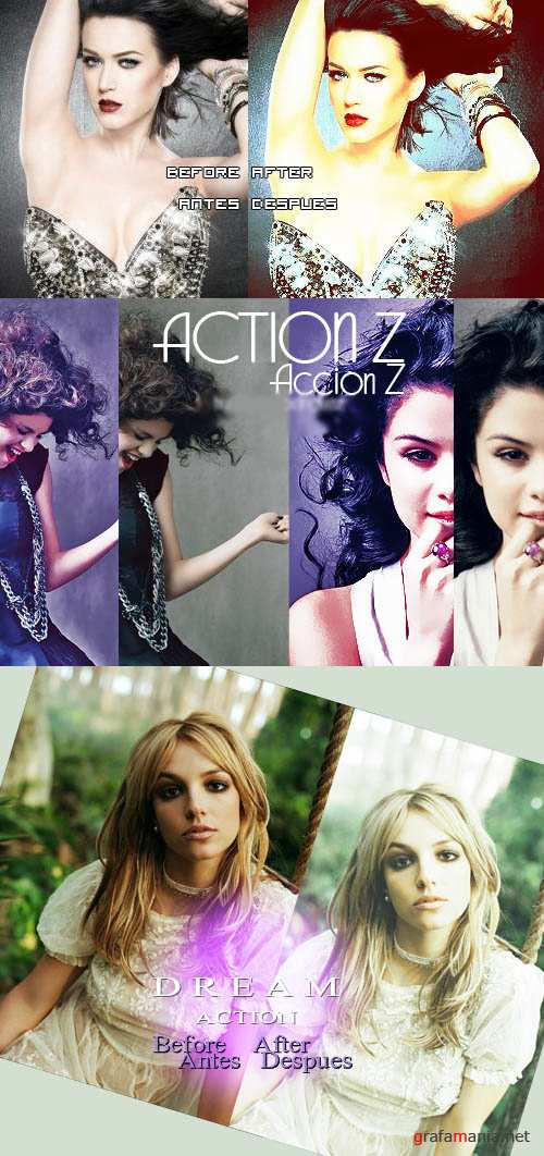 Cool Photoshop Action pack 224