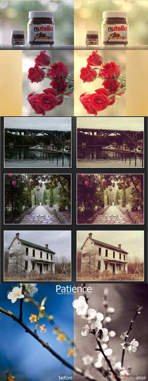 Cool Photoshop Action pack 238