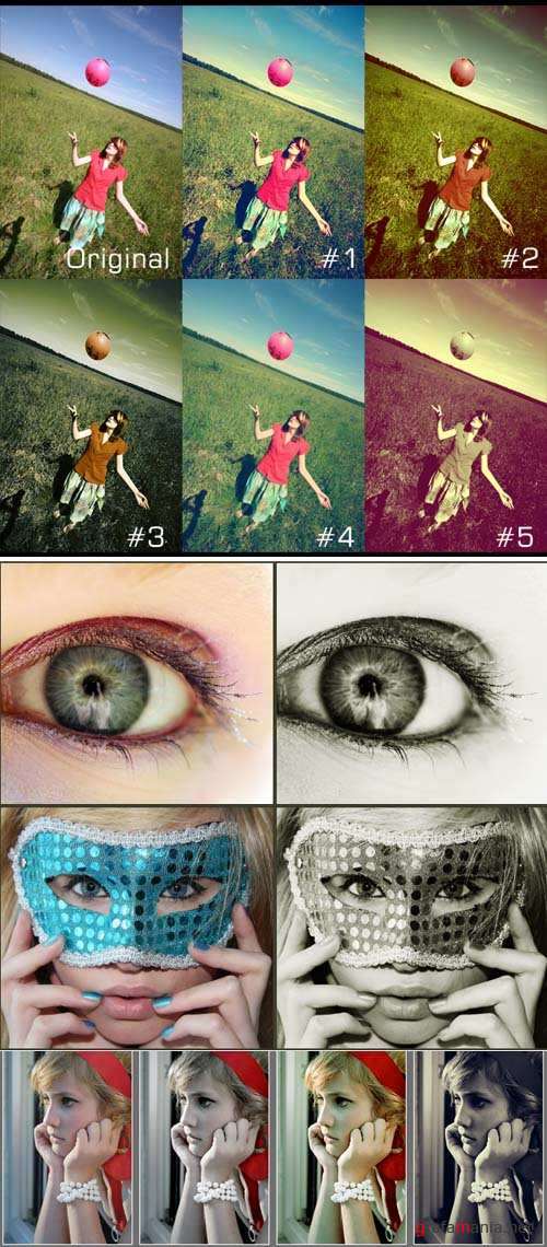 Cool Photoshop Action pack 241