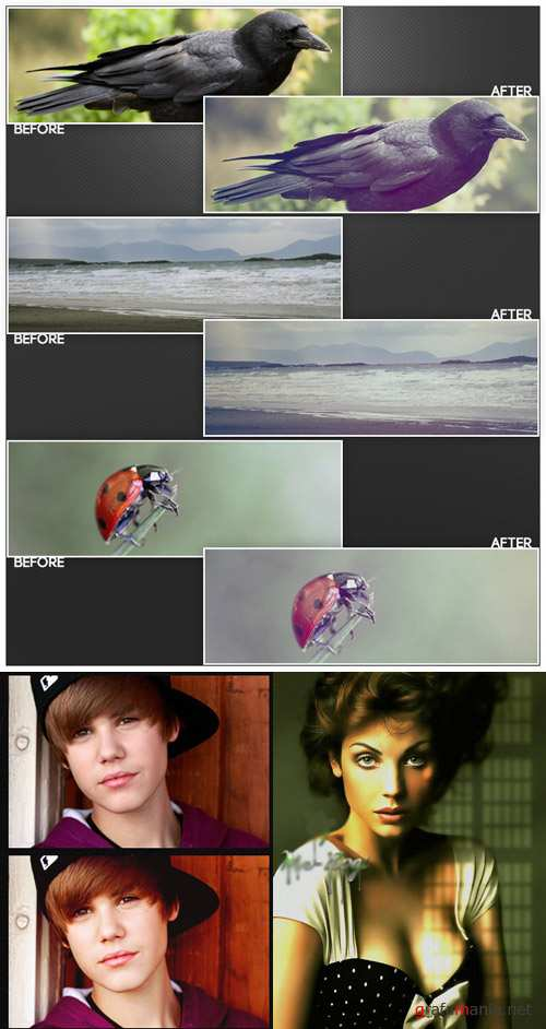 Cool Photoshop Action pack 242