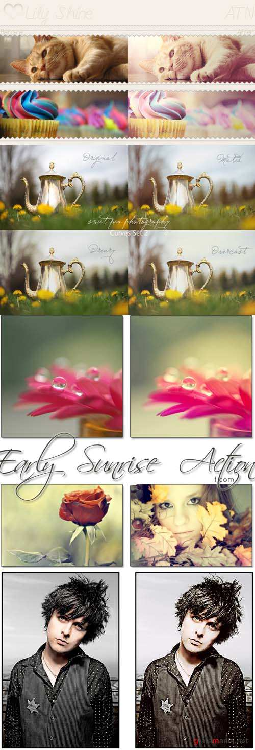 Cool Photoshop Action pack 244