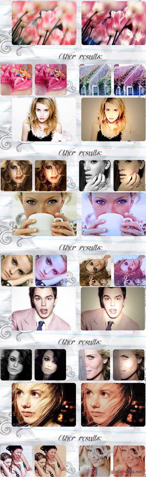 Cool Photoshop Action pack 250