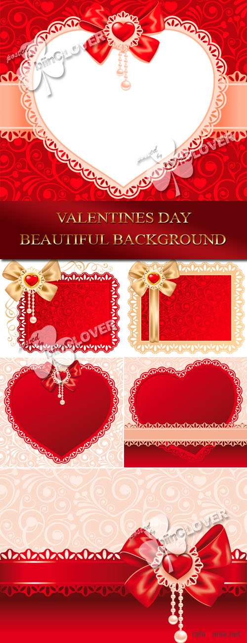 Valentine's Day beautiful background 0076