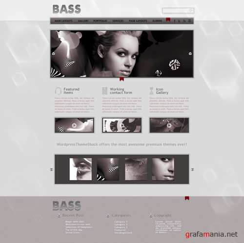 Mysic Template - Bass