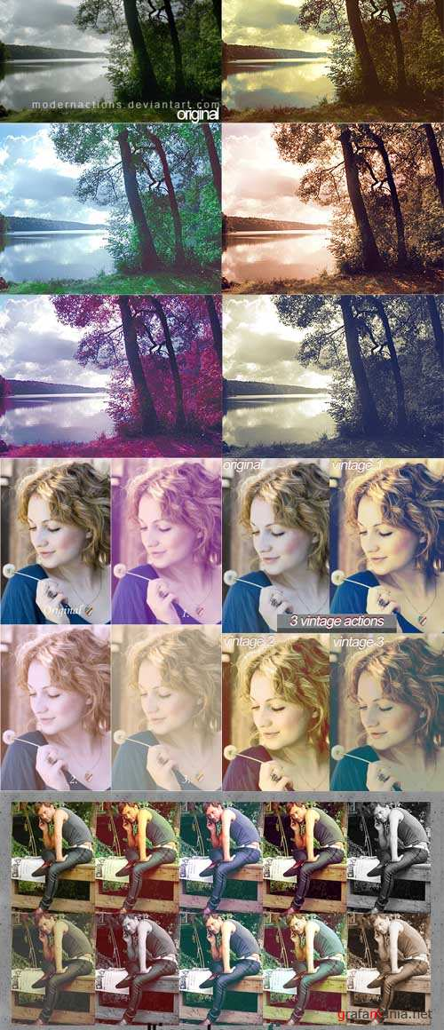 New Photoshop Action pack 260