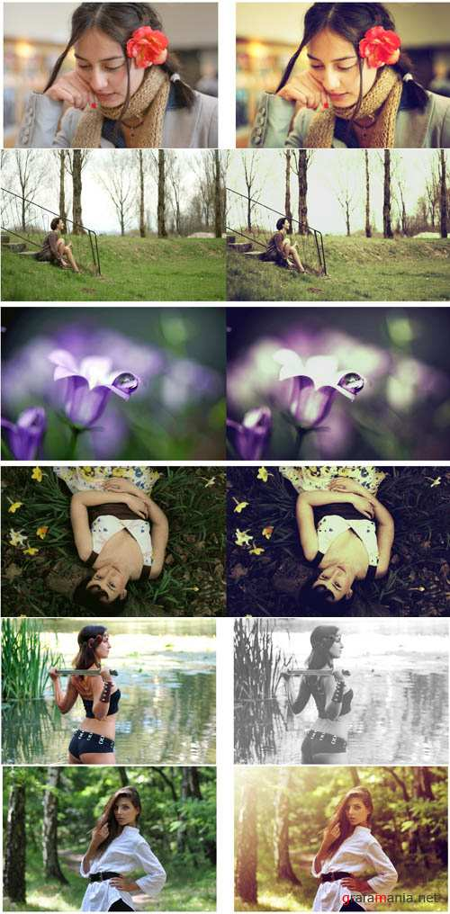 New Photoshop Action pack 261