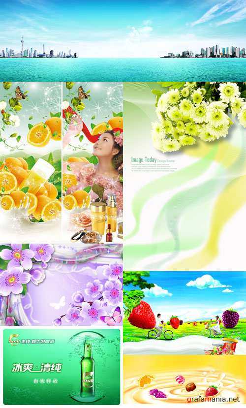 New Spring collection source for Photoshop