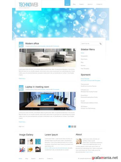 Dream Template - TechnoWeb