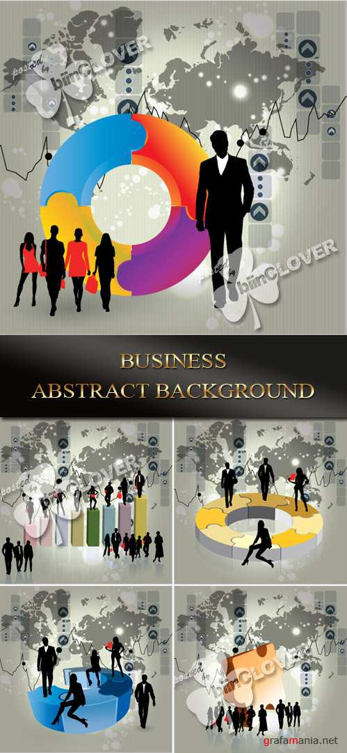 Business abstract background 0081