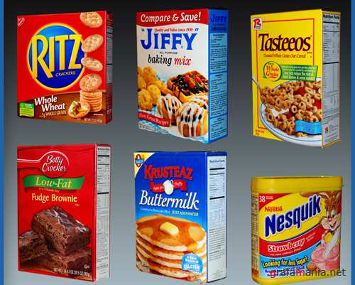 Food Products Psd for Photoshop