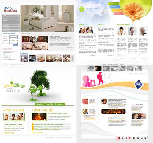 Photoshop Templates pack 1