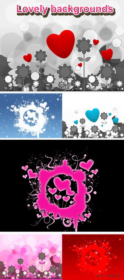 Lovely Backgrounds for Photoshop