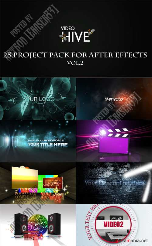 25 Project Pack for After Effects Vol.2 (Videohive) - REUPLOAD