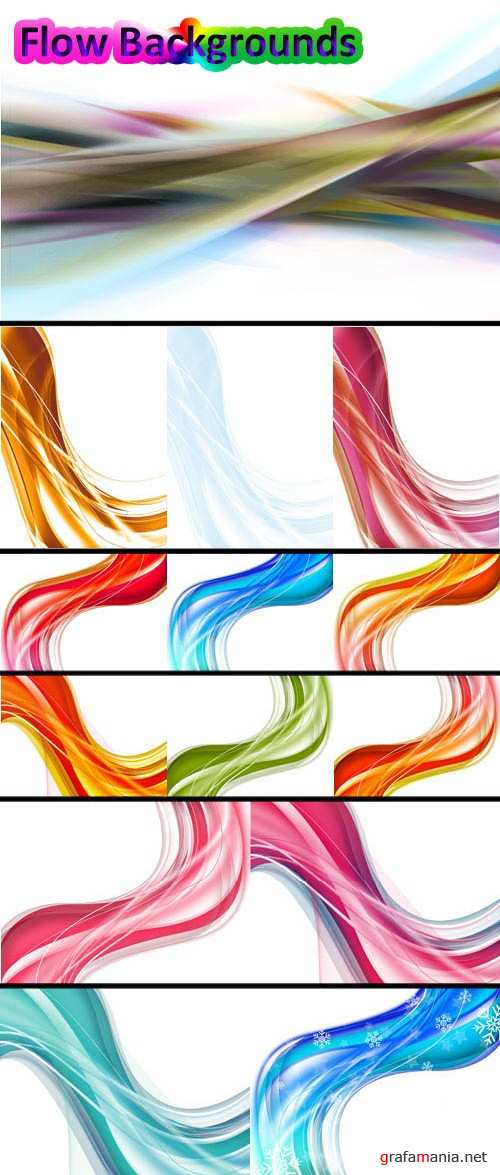 Flow Backgrounds for Photoshop