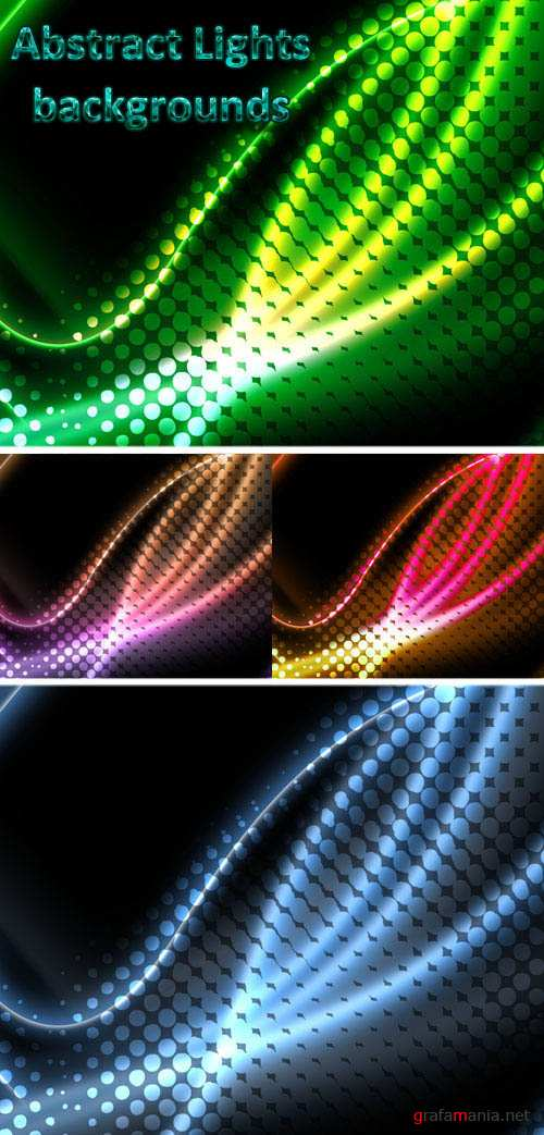 Abstract Lights Background for Photoshop
