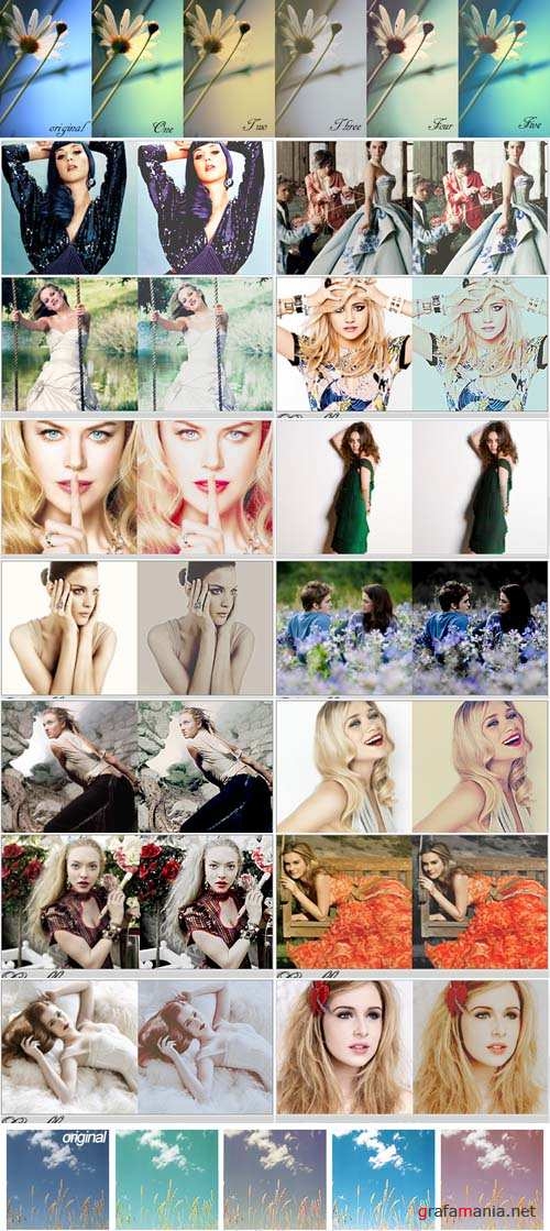 New Photoshop Action 2012 pack 284