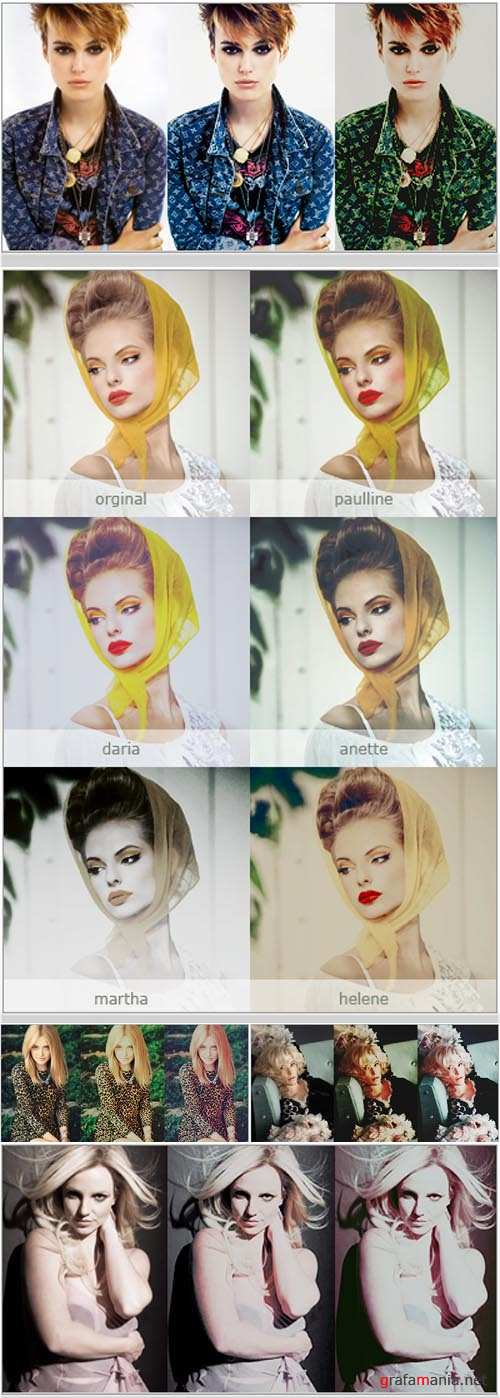 New Photoshop Action 2012 pack 287