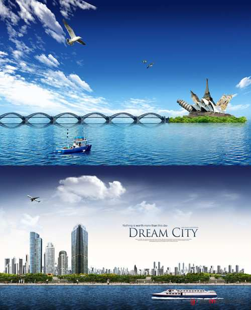 City of Dreams for Photoshop