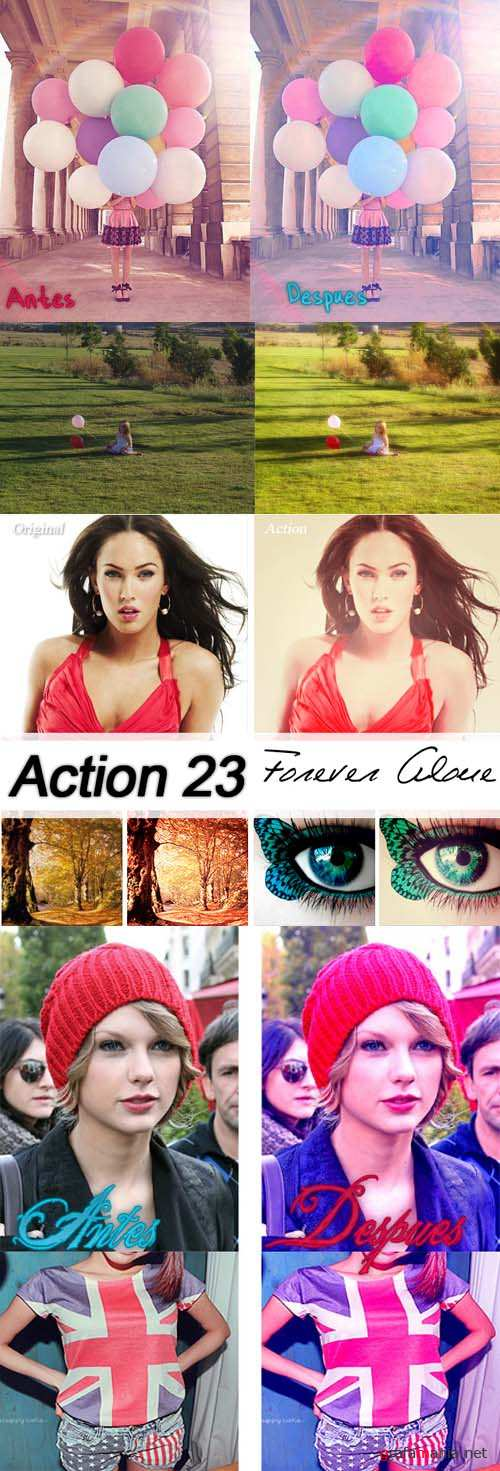 New Photoshop Action 2012 pack 296