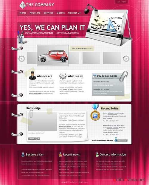 Template - Business Company