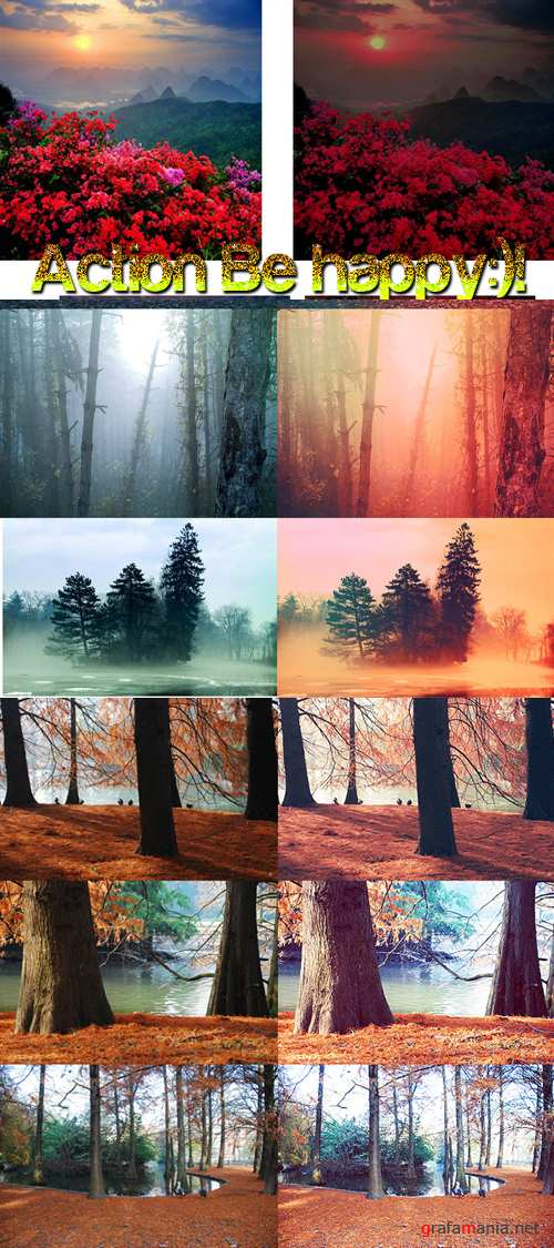 Cool Photoshop Action 2012 pack 321