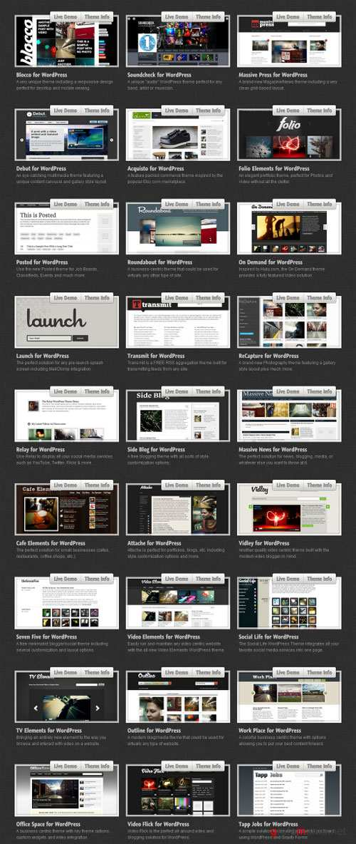 WP Themes Bundle - Press75