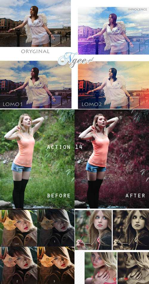 Cool Photoshop Action 2012 pack 352