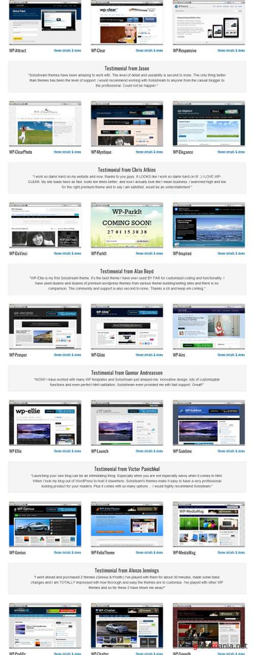 WP Themes - Solostream