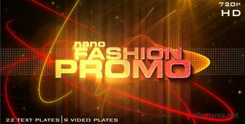 Nano Fashion Promo - Project for After Effects (VideoHive)